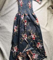 Cvetna duga haljina