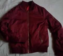 H&M bomber bordo jakna