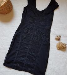 H&M crna haljina XS/S