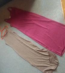 Bez i crvena haljina M