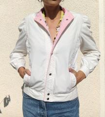Fantasticna vintage bela jaknica