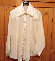 Atraktivna prljavo bela košulja, 40, NOVO