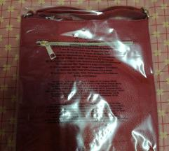 Crvena torba preko ramena nova neotpakovana