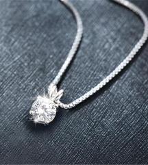 prelepa ogrlica sterling silver 925