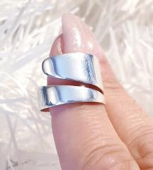 Srebrni prsten Novo 19mm.