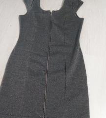 H&M elegantna sjajna haljina Novo