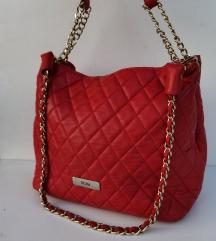 Mona kozna stepana crvena torba vrhunski model