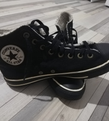 All star patike kozne s krznom