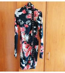 Cvetna haljina sa drikerima