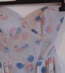 BERSHKA Šarena letnja haljina