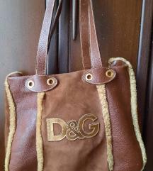 D&G original kožna tašna