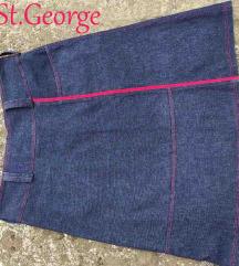 Zvonasta St.George suknja 2u1 vel. L