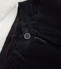Scorpico crne zenske pantalone