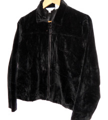 Geoffrey Beene plišana retro jakna