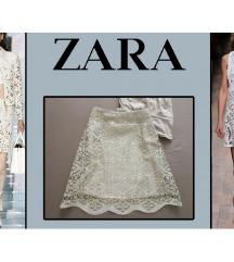 Zara Women laser cut suknja NOVO