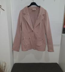Zenski sako roze boje 40 velicina