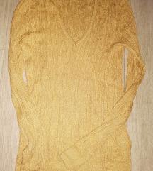 Končana majica u boji starog zlata
