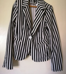 Crno beli nov sako