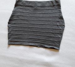 Kratka suknja rastegljiva za jesen/zimu