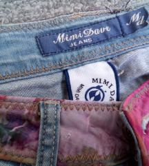 Slatke NOVE Mimi Dave teksas farmerke,80% cotton