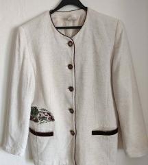 Vintage preudobna alpskog stila jakna