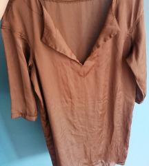Satenska kosulja-haljina