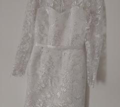 Svecana bela haljina