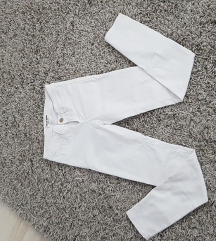 Pull&bear uske bele pantalone
