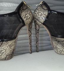 Sandale stikle 35