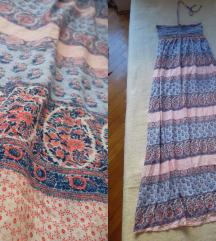 Women' secret maxi haljina otvorenih ledja, L/XL
