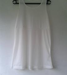 Bela poluprovidna boho majica