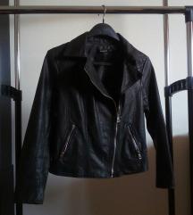 Crna Stradivarius kožna jaknica