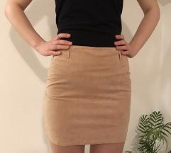 C&A bež suknja