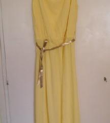 Zuta maxi haljina