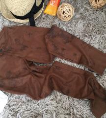 CALZEDONIA ❤️ velour pants xs