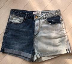 DIY high waist teksas sorts