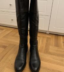 Kožne italijanske čizme, broj 39,NOVO