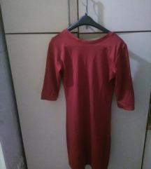 bordo turska mini haljina