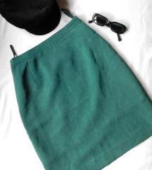 Vintage pencil suknja