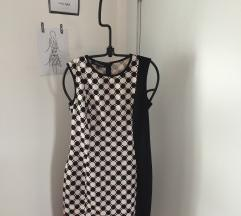 Balasevic crno-bela haljina