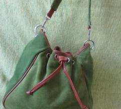 Skupocena    kozna torba  APRILE