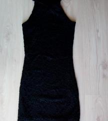 Nova crna haljina cipka