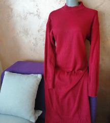 Maxi džemper haljina rezz