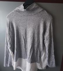 Siva bluzica,bez etikete