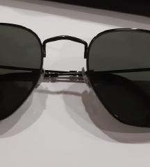 Uniseks naočare Hexagonal Flat Lenses