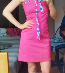 Pink top haljina/ BESPREKORNO