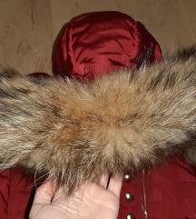Zimska jakna bordo