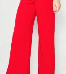 Zara crvene pantalone