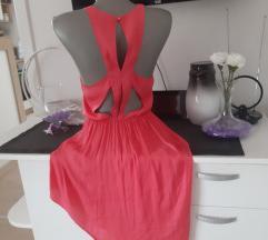 Bershka svilena haljina