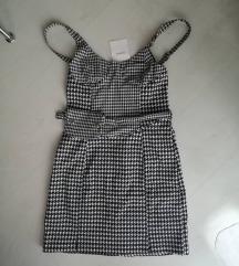 Bershka haljina sa etiketom i torbicom